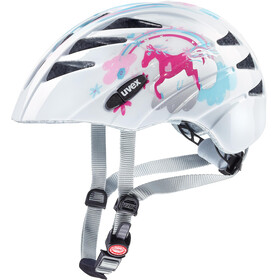 UVEX Kid 1 Bike Helmet Children white/colourful